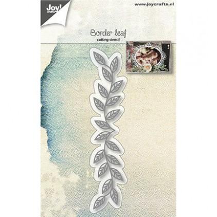 wykrojniki do papieru gałązka z listkami - Joy Crafts 6002/1132