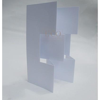 Baza albumowa, kartka parawan biały - Eco-scrapbooking
