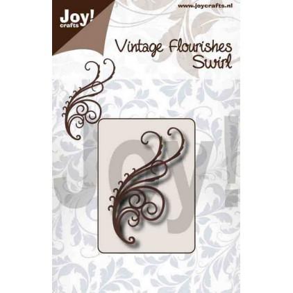 cutting die vintage fluorishes swirl Joy Crafts 6003/0092
