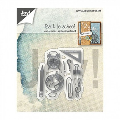 cutting die back to school Joy Crafts 6003/1345