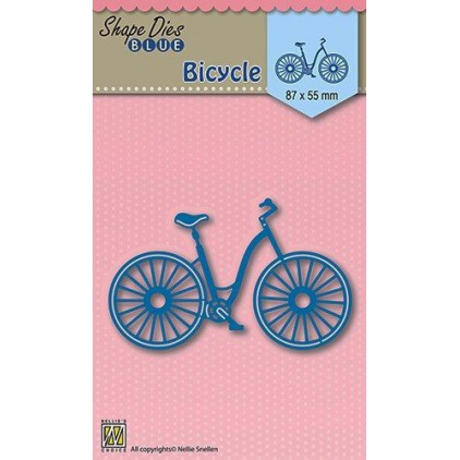 cutting die bicycle Nellie's Choice SDB004 - Bicycle