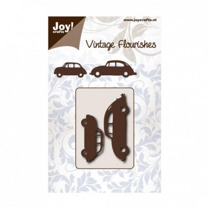 cutting die vintage fluorishes carsJoy Crafts 6003/0074