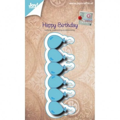 cutting die Happy Birthday - swirl Joy Crafts 6002/0474