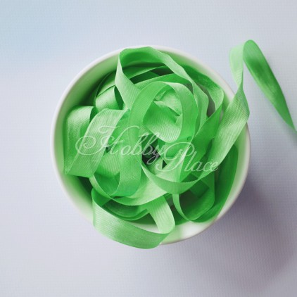 wstążka vintage - wstążki gnieciuchy - 1 metr - 25094 spring green