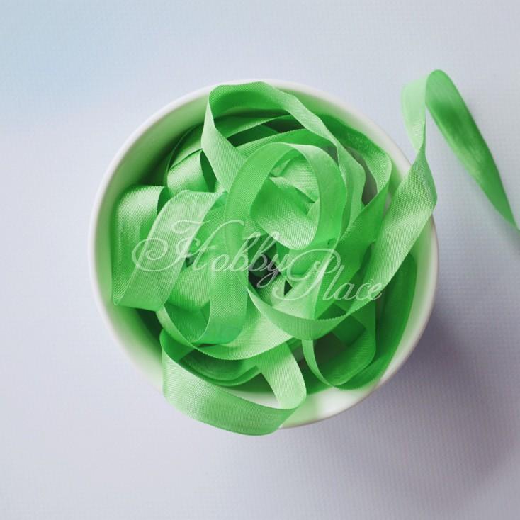 Vintage Style Rayon Seam Binding Ribbon Spring Green