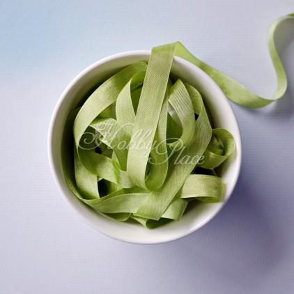 rayon seam binding - hug snug - 1 meter - 25030 moss green