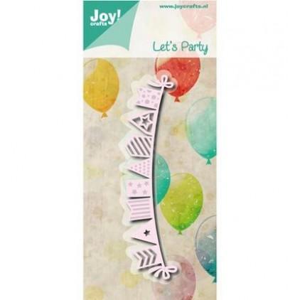 wykrojniki do papieru grilanda, banerki - Joy Crafts 6002/0794 Let's Party