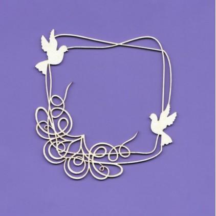 wedding doodles tekturka - Crafty Moly 1237