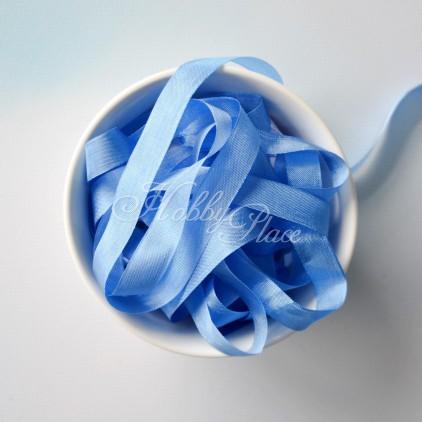 rayon seam binding - hug snug - 1 meter - blue jay