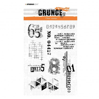 Clear stamp - Studio Light - Grunge collection - 340