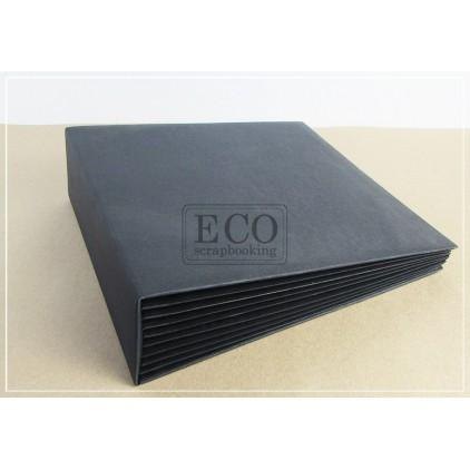 Baza albumowa Bazyl szara okładka- 25 x 25 cm- Eco-scrapbooking