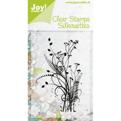 stempel silikonowy zioła,trawy 01 - Joy!Crafts 6410/0336