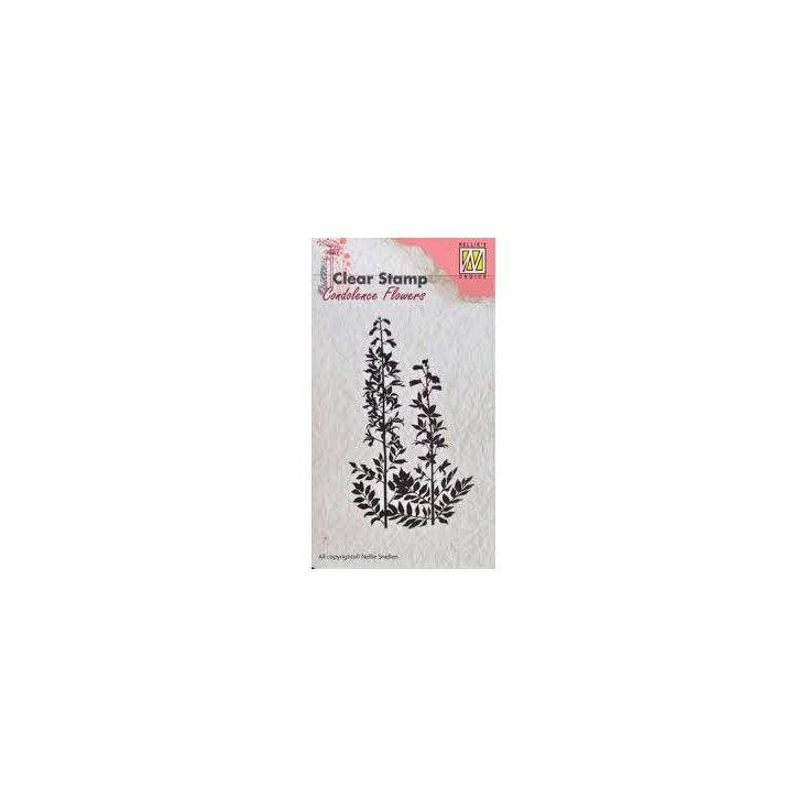 clear stamp Flowers-5 - Nellie's Choice CSCF005