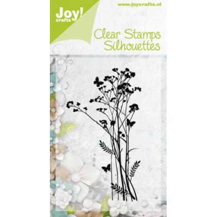 stempel silikonowy zioła,trawy 02 - Joy!Crafts 6410/0335