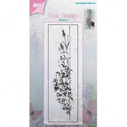 stempel silikonowy zioła,trawy 03 - Joy!Crafts 6410/0381