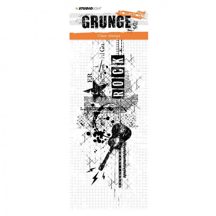 Stempel silikonowy - Studio Light - Grunge collection - 339