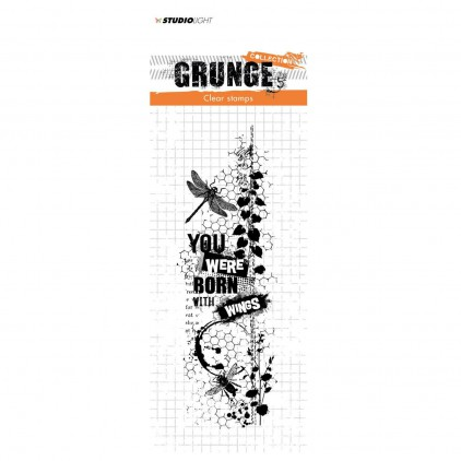Stempel silikonowy - Studio Light - Grunge collection - 343