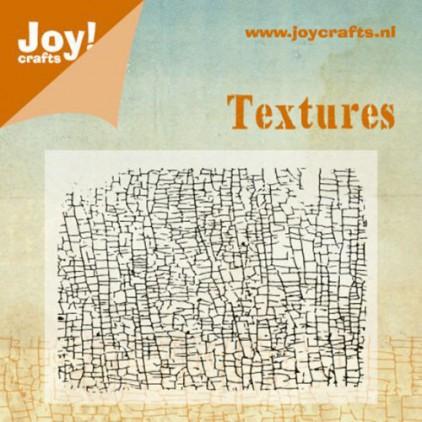 stempel silikonowy tło, spękania - Joy!Crafts 6410/0342