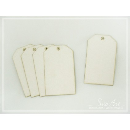 large tag bases 5 pcs. - laser cut, chipboard - snipart