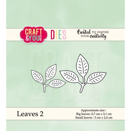cutting die leaves 2 - Craft&you design CW039