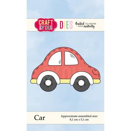 samóchód wykrojnik - Craft&you design car CW044