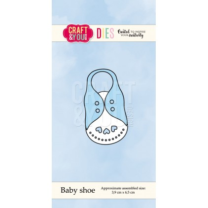 cutting die Baby shoe - Craft&you design CW045