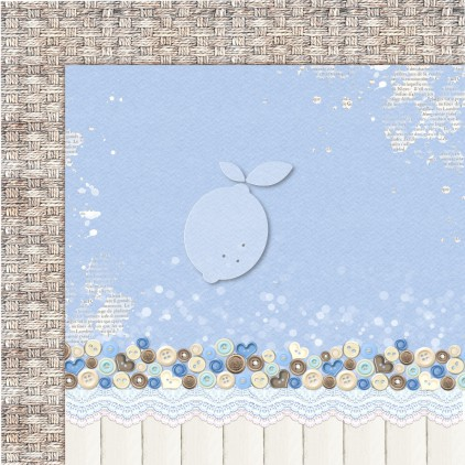 Boy's Little World 06 - Lemoncraft - Double-sided scrapbooking paper