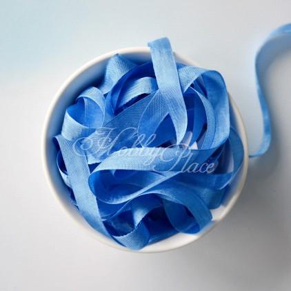 rayon seam binding - hug snug - 1 meter - 24965 flower blue