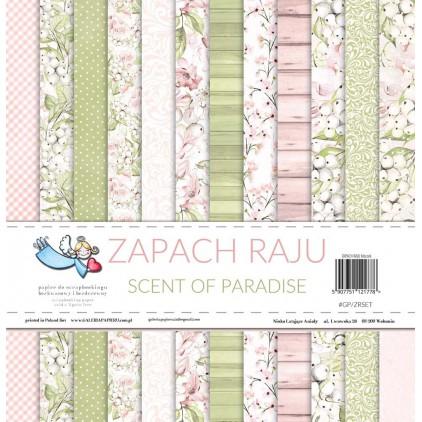 Zestaw 12 papierów do scrapbookingu - Galeria Papieru - Zapach Raju