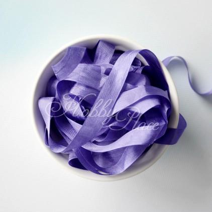 Wstążka vintage - wstążki gnieciuchy - 1 metr - 25068 riviera lilac