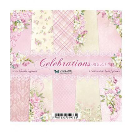 Celebrations Rogue, mały bloczek - Papiery do scrapbookingu 15x15cm - ScrapAndMe