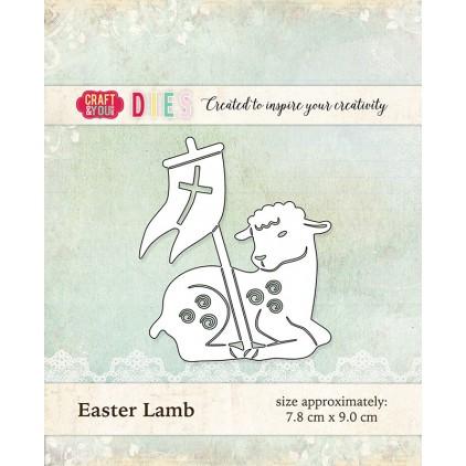 baranek wielkanocny - Craft&you design Baby shoe CW017