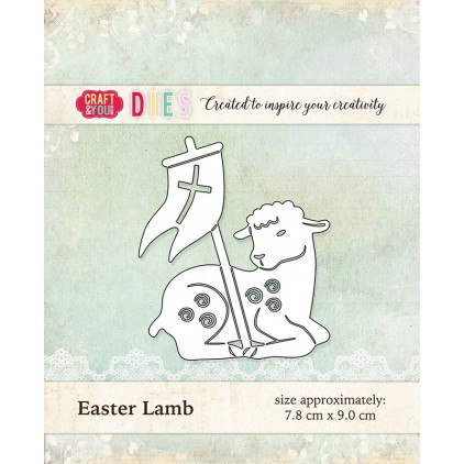 cutting die Ester lamb- Craft&you design CW017