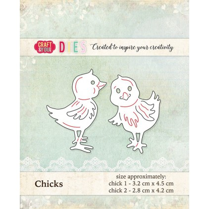 cutting die chicks - Craft&you design CW015