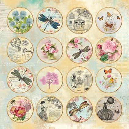 I love Vintage 07 - Papier do scrapbookingu 30x30 cm - Craftandyoudesign