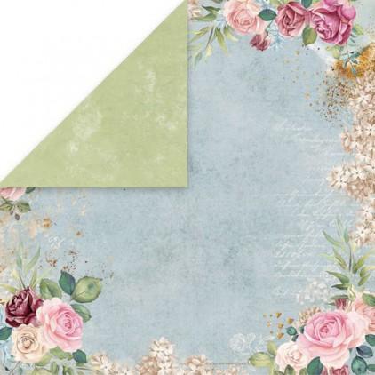 Flower vibes 01- scrapbooking paper 30x30 cm - Craftandyoudesign
