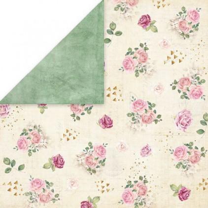 Flower vibes 04- Papier do scrapbookingu 30x30 cm - Craftandyoudesign