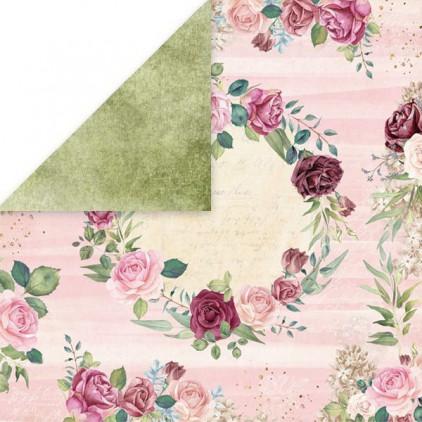 Flower vibes 05- Papier do scrapbookingu 30x30 cm - Craftandyoudesign
