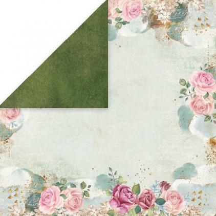 Flower vibes 06- Papier do scrapbookingu 30x30 cm - Craftandyoudesign
