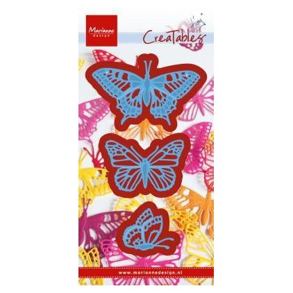 butterflies die Marianne Design Creatables - LR0509
