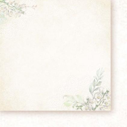 Papier do scrapbookingu 30x30cm - Niewinność 05 - Galeria Papieru