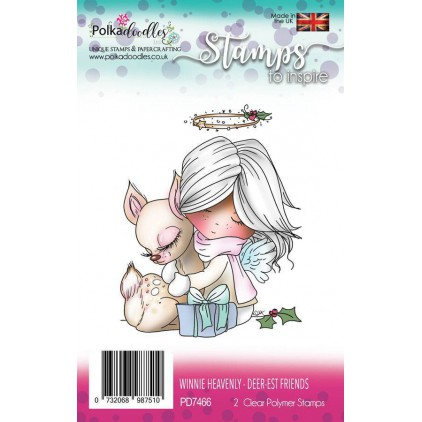 Stemple scrapbooking - Winnie Heavenly - Polka Doodles