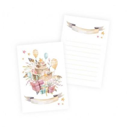 Scrapbooking akcesoria - Zestaw 10 kart Cute & Co. Dziewczynka - P13