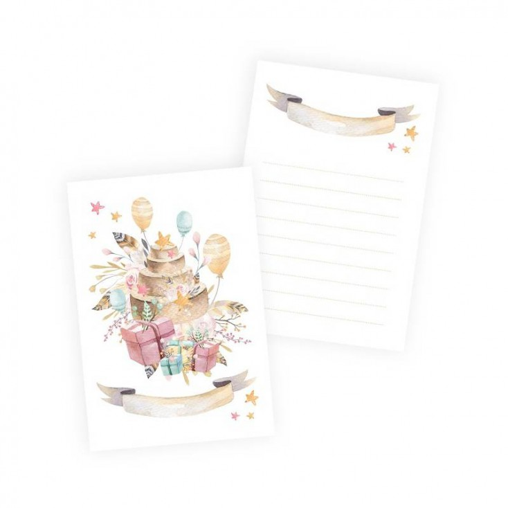 Scrapbooking accessories - Set of 10 cards Cute & Co. Girl - P13