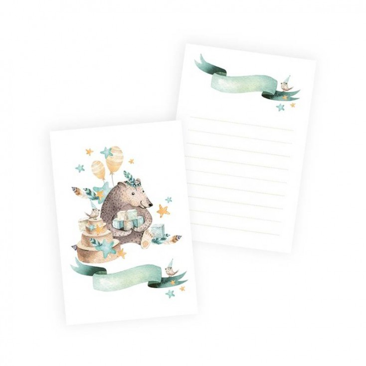 Scrapbooking accessories - Set of 10 cards Cute & Co. Boy - P13