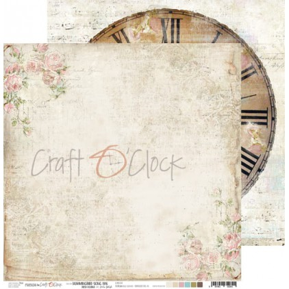 Scrapbooking papier 30x30cm - Hummingbird Song 06 - Craft O Clock