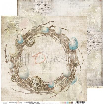 Scrapbooking papier 30x30cm - Hummingbird Song 05 - Craft O Clock