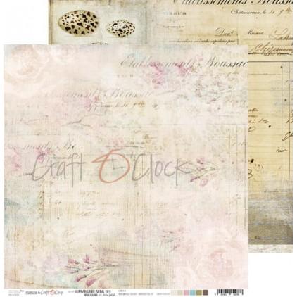 Scrapbooking papier 30x30cm - Hummingbird Song 04 - Craft O Clock