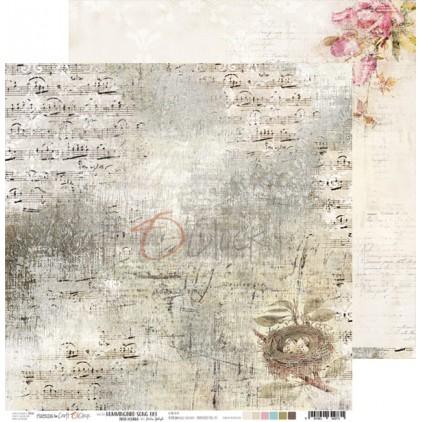 Scrapbooking papier 30x30cm - Hummingbird Song 03 - Craft O Clock