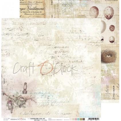 Scrapbooking papier 30x30cm - Hummingbird Song 01 - Craft O Clock
